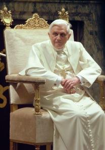 Pope Benedict XVI, by Sergey Kozhukhov
